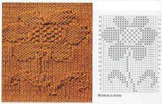 floare tricotata