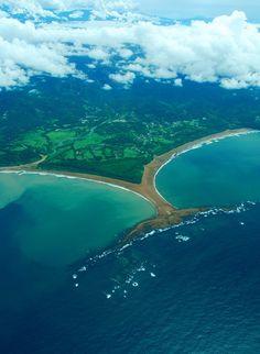 The Whale's Tail, Playa Uvita, Costa Rica.