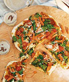 Pizza de legumes