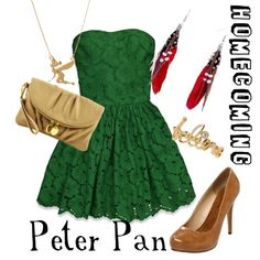 """Homecoming: Peter Pan"" by disneydiva305 on Polyvore"