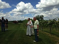 2014 - First music event in the vineyard and the blessing of the vines