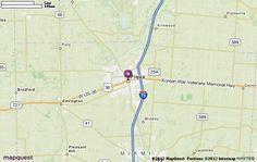 Piqua, OH Map | MapQuest