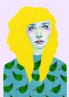 Falling Leaves - Natalie Foss