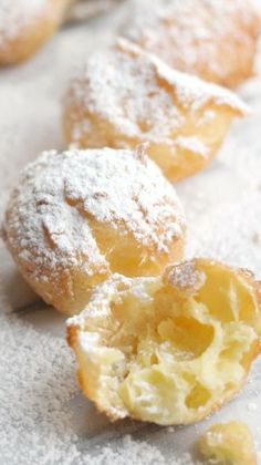 Homemade Beignets with Pate a Choux