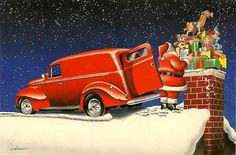 Photo Gallery: Holiday Hot Rods and Pin-Up Girls