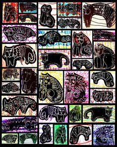 Gr. 1: Laurel Burch Art Auction Collaboration