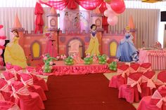 Partie Disney Princess Party   DISNEY PRINCESS THEME PARTY