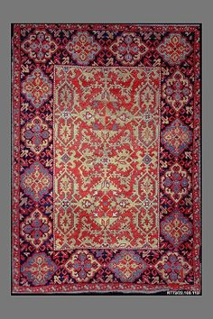 'Lotto' carpet Object Name: Carpet Date: 17th century Geography: Turkey Culture: Islamic Medium: Wool (warp, weft and pile); symmetrically knotted pile