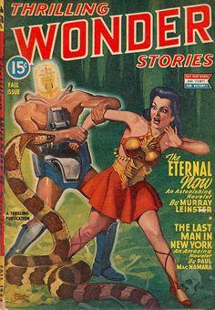 Thrilling Wonder Stories – The Eternal Now | Flickr - Photo Sharing!