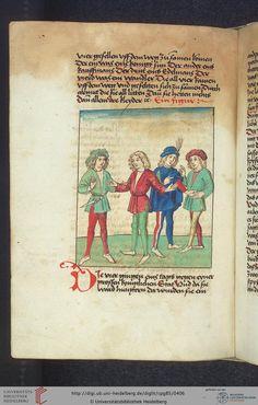 Cod. Pal. germ. 85: Antonius von Pforr: Buch der Beispiele (Schwaben, um 1480/1490), Fol 199v