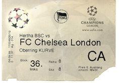 Hertha BSC - FC Chelsea 1999
