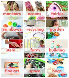 FREE summer camp plans for home - you can plan a fun summer camp at your home for your kids for free with these GREAT plans from No Time For Flash Cards. Camping Activites For Kids, Day Camp Activities, Preschool Summer Camp, Summer Camp Themes, Summer Camp Crafts, Summer Fun List, Summer Camps For Kids, Indoor Activities For Kids, Camping Crafts