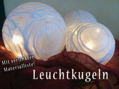 Lichterkugeln - Anleitung zum Selbermachen