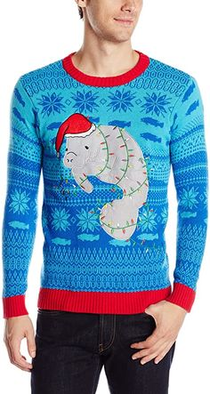 Blizzard Bay Men's Ugly Christmas Sweater Sea Creatures at Amazon Men's Clothing store Best Christmas Sweaters, Mens Ugly Christmas Sweater, Holiday Sweater, Christmas Stockings, Ugly Sweater Day, Men Sweater, Thing 1, Florida Girl, Cute Sweaters