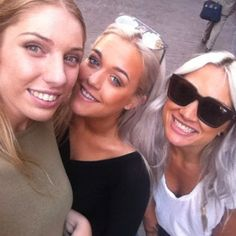 Lottie & Lou in Brussels, Belgium with fans today (: (6/12/15)