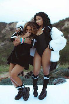 Beyonce & Nicki minaj