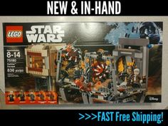 LEGO Star Wars 75180 Rathtar Escape 836pcs New In Hand Free Shipping