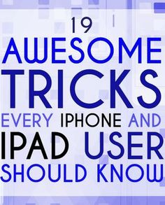 Useful Tips For People Who Suck At Eyeliner 19 Mind-Blowing Tricks Every iPhone And iPad User Should Mind-Blowing Tricks Every iPhone And iPad User Should Know Life Hacks Computer, Iphone Life Hacks, Computer Basics, Computer Help, Computer Tips, Cell Phone Hacks, Smartphone Hacks, Technology Hacks, Computer Technology