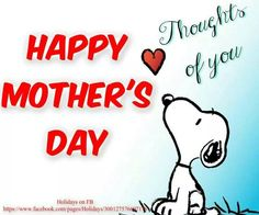 Happy Mother's Day...
