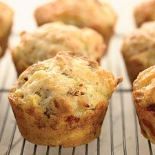 bacon & egg muffins w/ self-rising flour