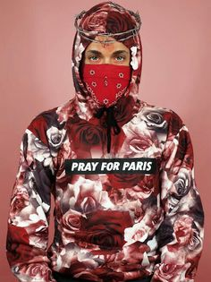 Pray For Paris Rose Petal Sweater£