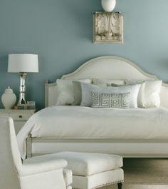 Restful blue color scheme