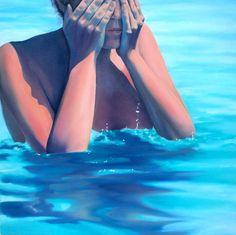 "Saatchi Art Artist Cathryn McEwen; Painting, ""I keep making the same mistakes"" #art"