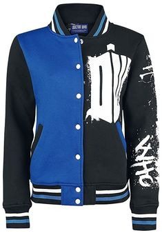 Heartless - DOCTOR WHO STREET - Mens Varsity Jacket - Official DR Who Merchandise (Large)