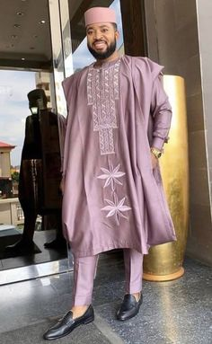 Here are some lovely African Royal dressing for the men. African Wear Styles For Men, African Shirts For Men, African Dresses Men, African Attire For Men, African Clothing For Men, Latest African Fashion Dresses, African Print Fashion, Nigerian Men Fashion, Mens Fashion