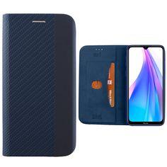 """ΘΗΚΗ XIAOMI REDMI NOTE 8T 6.3"""" ELITE ANTI-RFID BOOK STAND BLUE Galaxy Phone, Samsung Galaxy, Book Stands, Notes, Blue"""
