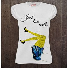 """T-shirt donna """"ME BEFORE YOU"""" di Atomico75 su Etsy"""
