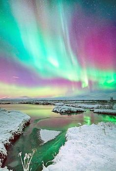 Northern lights watch ~ Stunning nature