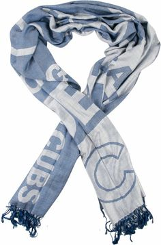 Chicago Cubs Lightweight Pashmina Scarf by Forever Collectibles $24.95
