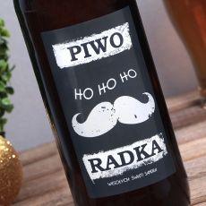 Piwo personalizowane WĄSY idealny na urodziny