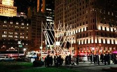 Hanukkah Menorah on 59th st