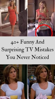 Thanks to the rise of online streaming services, fans can now watch - and re-watch - their favorite shows, and spot some mistakes that have previously been missed. #40+ #Funny #TVMistakes