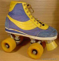 Rolschaatsen van toen we nog knikkerden!!!