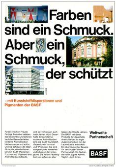 Original-Werbung/ Anzeige 1969 - FARBEN / BASF - ca. 180 x 240 mm