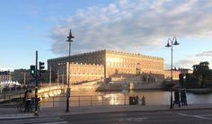 Königliches Schloss (Kungliga slottet) in Stockholms Gamla Stan
