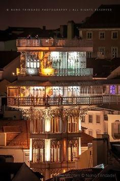 The Lift  de Santa Justa - Lisboa - Portugal