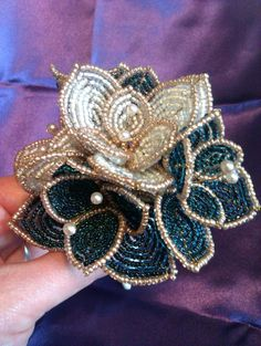 Picture of Beaded Wedding Bouquet