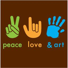 Peace, love and art