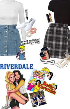The easiest way to find the perfect outfit Teen Fashion Outfits, Edgy Outfits, Outfits For Teens, Cool Outfits, Betty Cooper Outfits, Riverdale Merch, Riverdale Fashion, Riverdale Cole Sprouse, Eyeliner Hacks