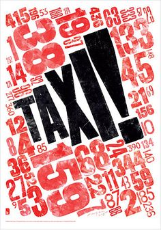 TYPOGRAPHY MODULE  31/01/13  This typography poster reflects the busy, bustling and loud atmosphere of the city. The textural aspect of the letterpress also help to create interest and add a hand-made, personal quality to the typeface.