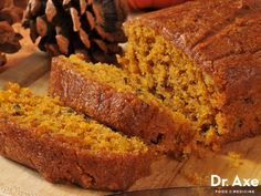 This gluten free pumpkin bread recipe is soft, sweet and super satisfying. The fluffy texture melts in your mouth and has a rich nutty and pumpkin flavor