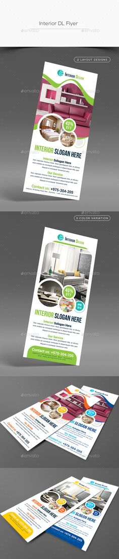 Interior DL Flyer - Corporate Flyers