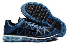 new arrival 441f4 fb7a7 Cheap Nike Air Max 2012 Running Shoes Online Black Blue Cool Nike Shoes, Nike  Shoes