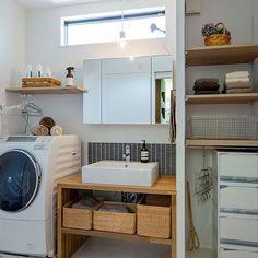 Home Dco Bathroom Interiors 34 Ideas House Interior Decor, Bathroom Interior, Small Bathroom, Laundry In Bathroom, Home, Interior, Bathroom Design, Home Office Design, Muji Home