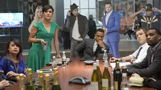 FOX NETWORK - Empire (February 18, 2015) , a sexy and powerful drama. Episode 7: Our Dancing Days - the team at Empire Entertainment looks at new videos with prospective singers being considered for contract with the label. Anika and Andre prepare the team for the investor showcase. Team is also viewing Jamal and Hakeem Lyon's new videos for review.