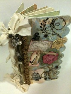 Memories Mini Album (Picture Heavy) - PAPER CRAFTS, SCRAPBOOKING & ATCs (ARTIST TRADING CARDS)